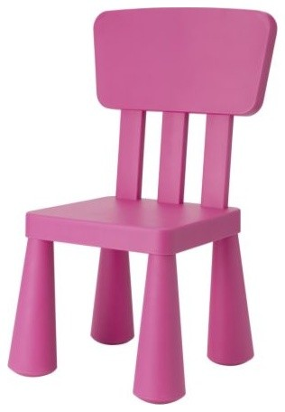 Mammut children 39 s chair dark pink scandinavian kids chairs by ikea - Mammut stuhl ikea ...