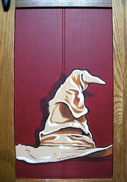 Harry Potter Themed Wardrobe Mural Arts Crafts Kent By Kids