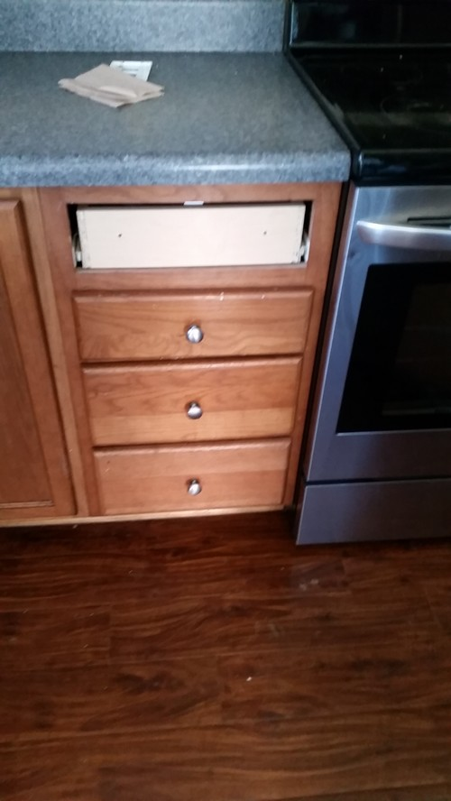 Missing Drawer Front