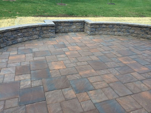 EP Henry Bristol Stone Paver Patio Installed In Avondale PA - Ep henry patio