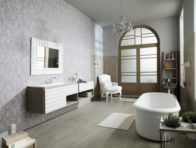 Florencia Natural - Contemporáneo - Cuarto de baño - Nueva York - de ...