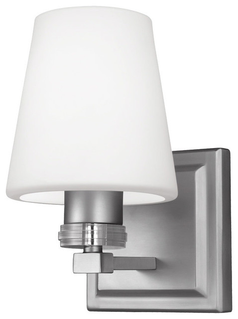 Feiss - Monte Carlo Rouen Wall Sconce - Bathroom Vanity Lighting Houzz