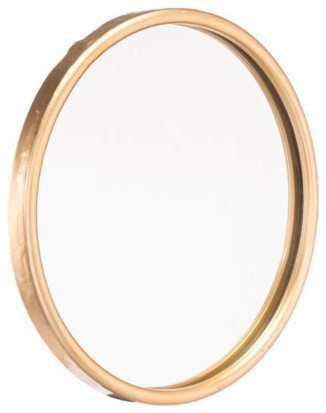 Ogee Mirror, Gold, Small.