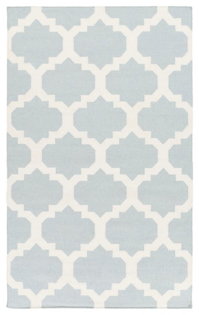 Blue And White Rug Home Decor