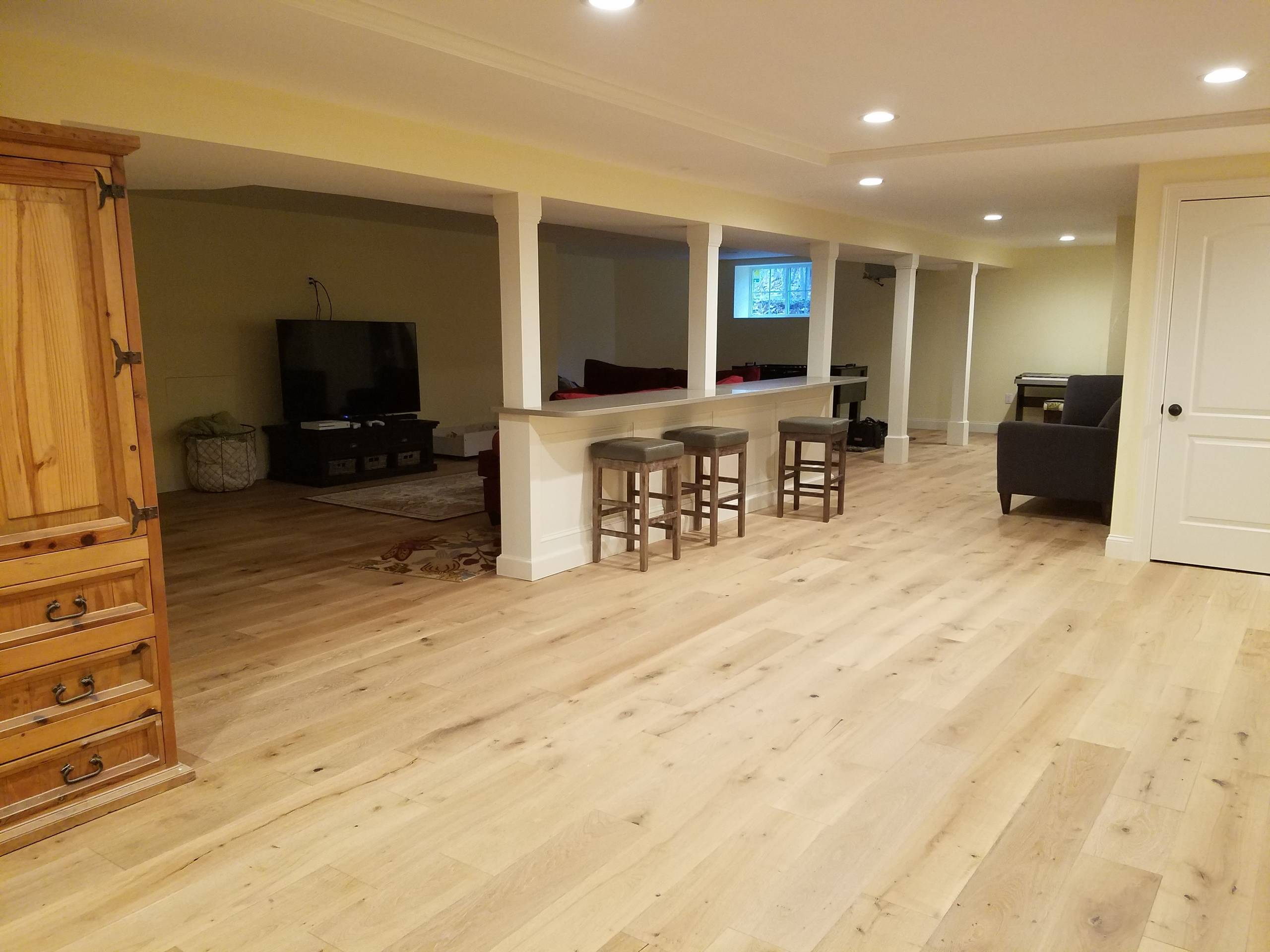 2000sqft basement
