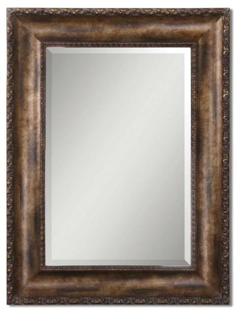 Uttermost Uttermost Leola Antique Bronze Mirror Floor Mirrors Houzz