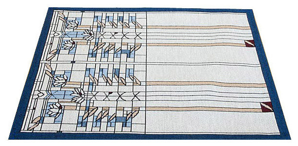 Frank Lloyd Wright Waterlilies Tapestry Placemat