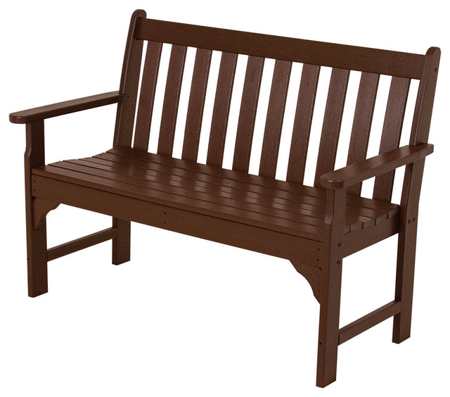 Polywood Vineyard 48 Quot Bench Contemporary Outdoor