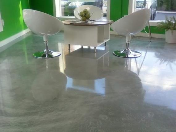Epoxy floor bathroom - Domestic Resin Flooring Durham Resin Floors Contemporary