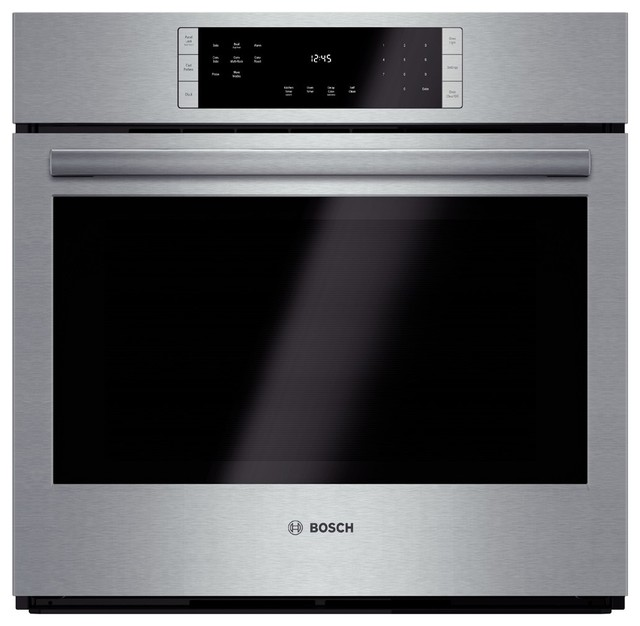 Bosch 30 Electric Single Wall Oven, Stainless Steel.