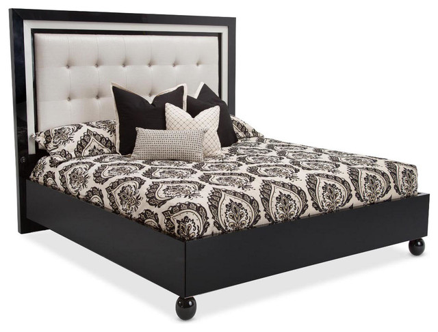 AICO Michael Amini Sky Tower Platform Bed