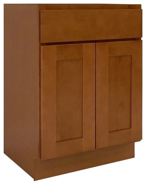 Bathroom Vanity 24 X 21 ngy shaker collection bathroom vanity cabinet, honey, 24''x21