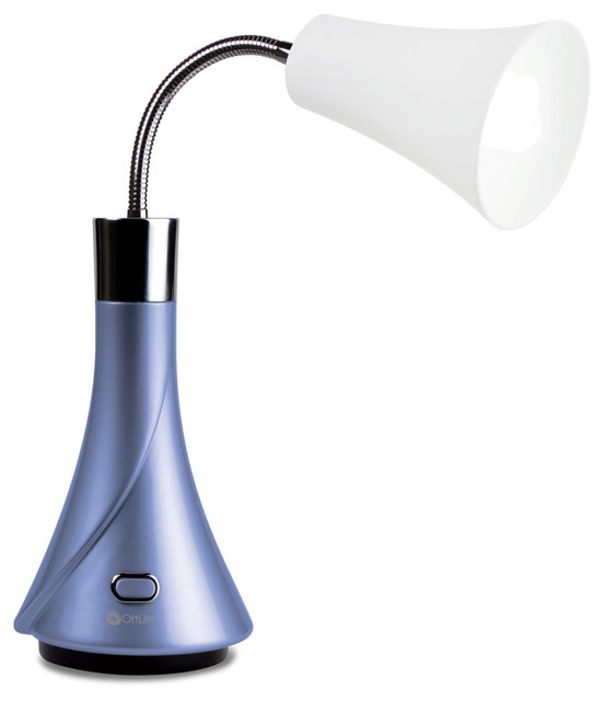 Ottlite Tulip Desk Lamp Contemporary Desk Lamps By