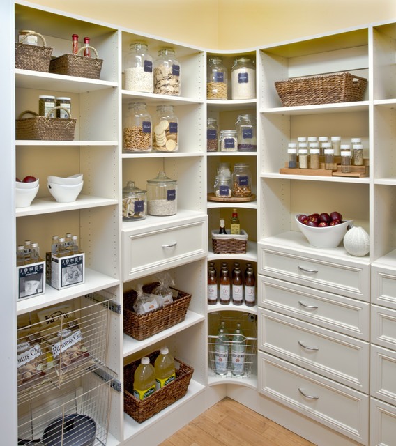 Delicieux Organized Pantry Shelving