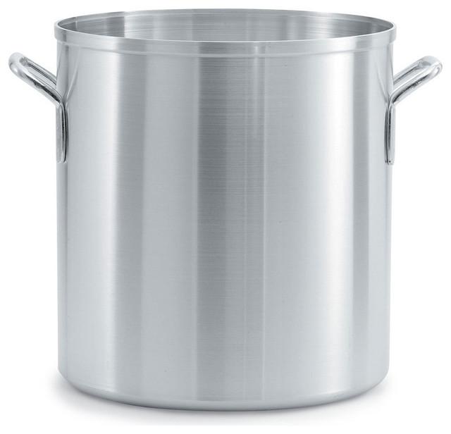 Vollrath 67580 Wear Ever Classic 80 Quart Aluminum Stock Pot.
