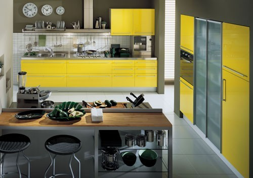 How To Do Colourful Kitchen Cabinets