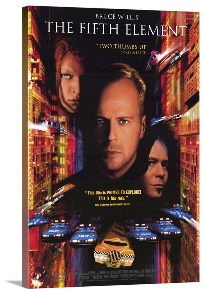 The Fifth Element 1997 Wrapped Canvas Art Print Contemporary Prints And Posters By Great Big Canvas