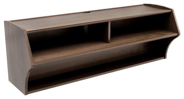 Prepac Furniture AV Console, Espresso Finish - Entertainment Centers And Tv Stands | Houzz