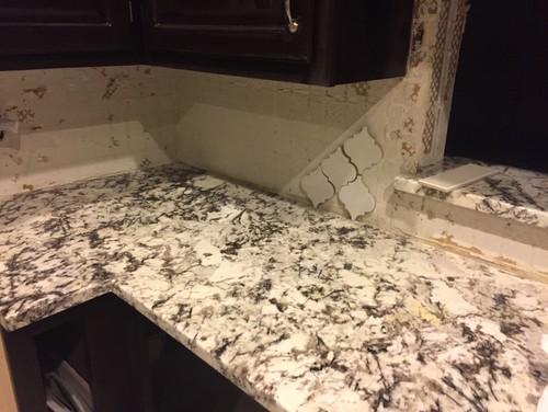 Need Tile Backsplash Help