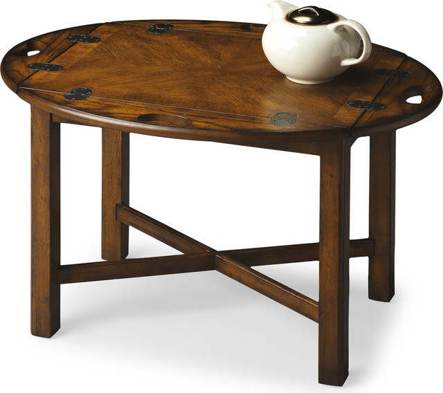 Butler Carlisle Butler Table View in Your Room Houzz : transitional side tables and end tables from www.houzz.com size 640 x 568 jpeg 77kB