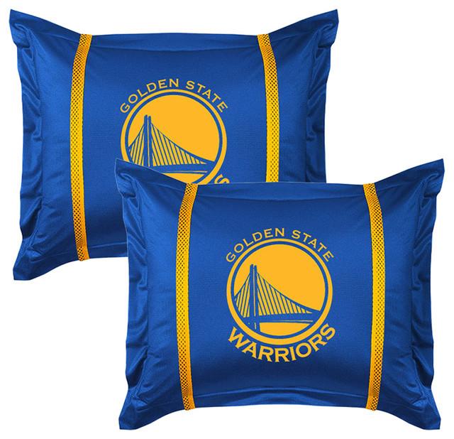 Nba Golden State Warriors Pillow Shams Set Of 2