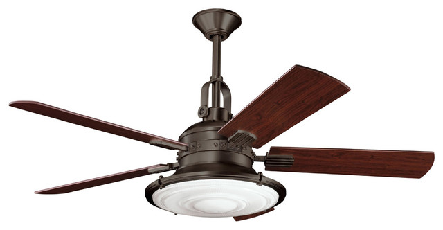 Kittery Point 4-Light Indoor Ceiling Fans, Olde Bronze.