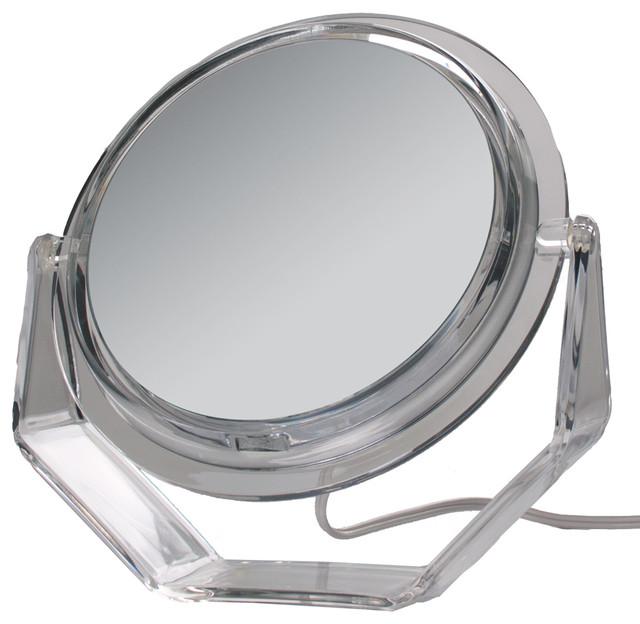 Zadro Surround Light Acrylic Vanity Mirror Contemporary