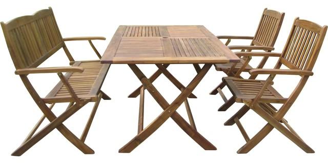 Sutton 4-Piece Patio Dining Set.