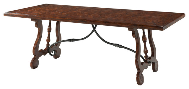 Charming Theodore Alexander Castle Bromwich The Country Kitchen Table  Traditional Dining Tables