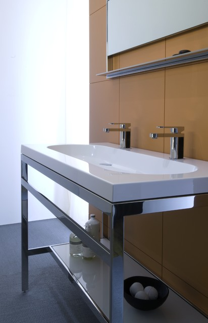 C collection bathroom vanities montreal by wetstyle for Bathroom cabinets montreal