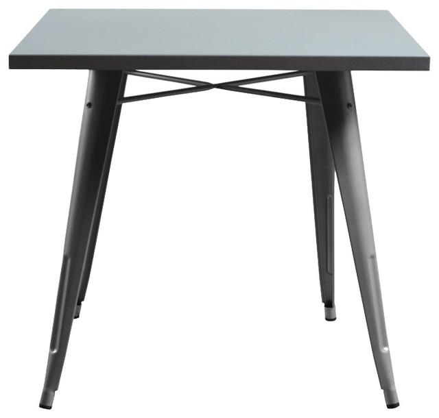 Bastille Cafe Square Dining Table Modern Tables