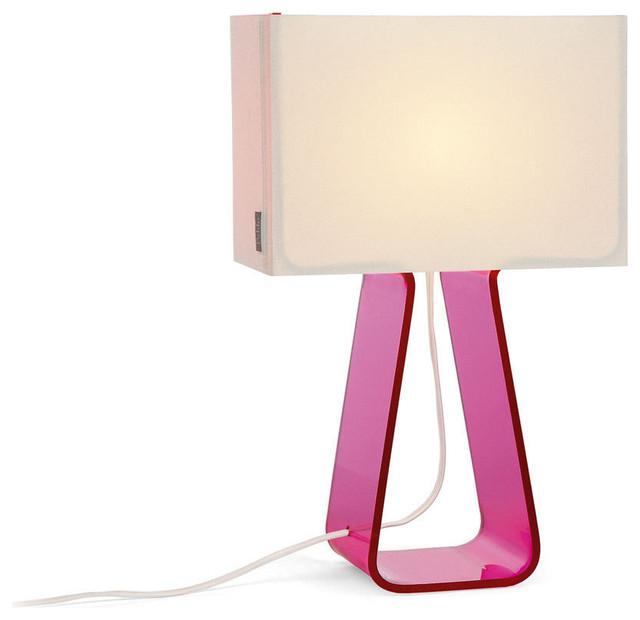 Attrayant Tube Top Lamp, Hot Pink