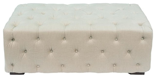 Petra Small Tufted Bench.