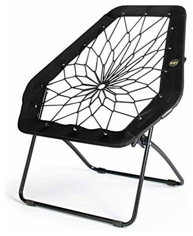 Swell Bunjo Black Hexagon Bungee Chair Pdpeps Interior Chair Design Pdpepsorg