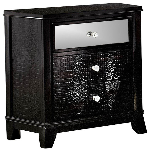 Mirrored NightstandsElegant Mirrored Dressers And  : contemporary nightstands and bedside tables from ncc1701.us size 632 x 640 jpeg 116kB