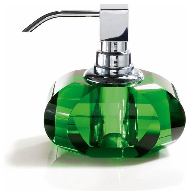 Harmony Crystal Soap Dispenser Contemporary Soap Amp Lotion Dispensers By Modo Bath