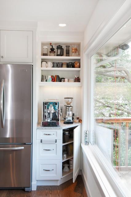 Cordova Bay Kitchen transitional