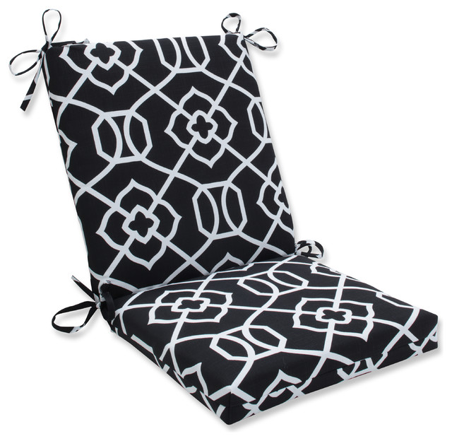 Out Indoor Kirkland Squared Corners Chair Cushion Black