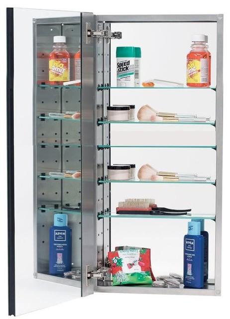 "Alno, Medicine Cabinet, 15""x25""x5""."