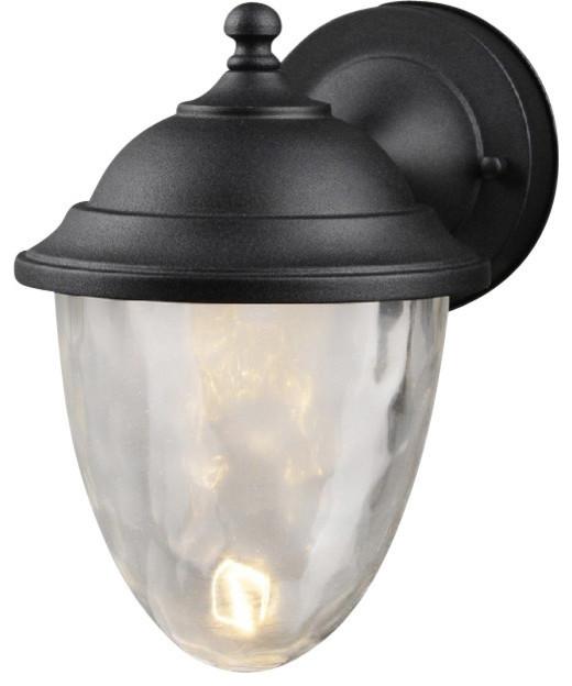 Hardware House Medium Led Lantern Textured Black