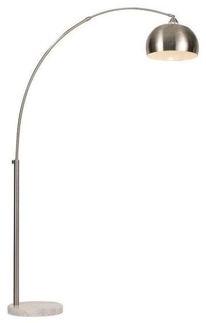 Signature 1-Light Floor Lamps, Polished Chrome.