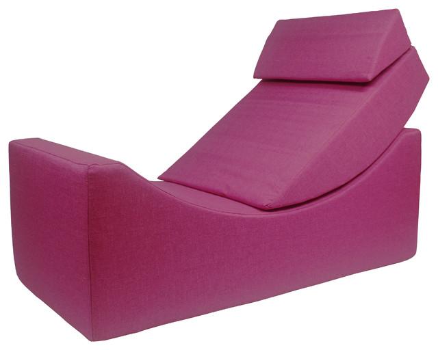 Enzyme Fuschia Accent Chair
