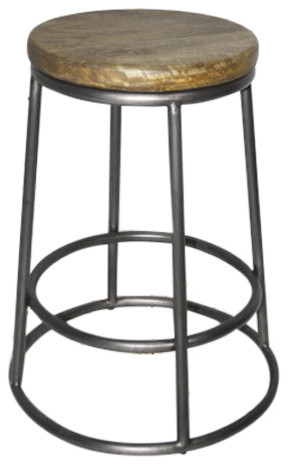 Tremendous Alder And Tweed Loft Counter Stool 26 Height Tnat006C Gmf Uwap Interior Chair Design Uwaporg