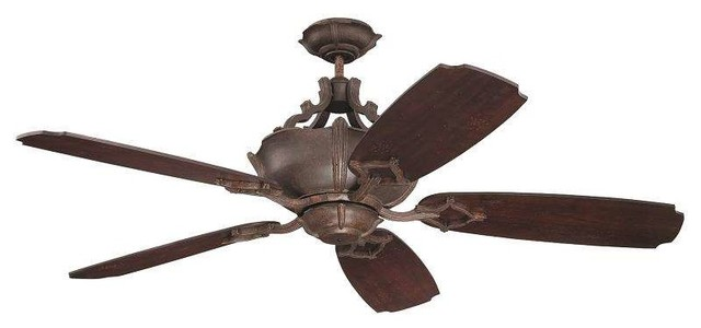 "Craftmade K11061 Wellington Xl 54"" Ceiling Fan, Remote."