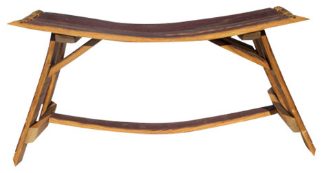 Stave Bench, Natural