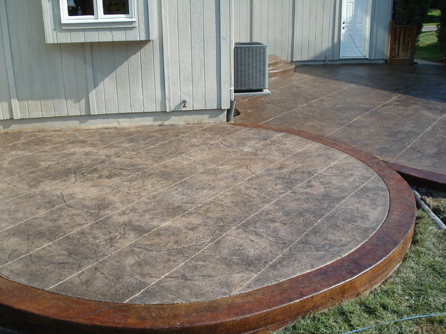 Decorative Concrete Patio Ideas
