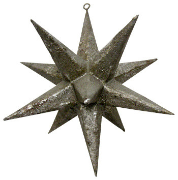 Silk Plants Direct Moravian Star Ornament, Pack of 1 - Traditional ...