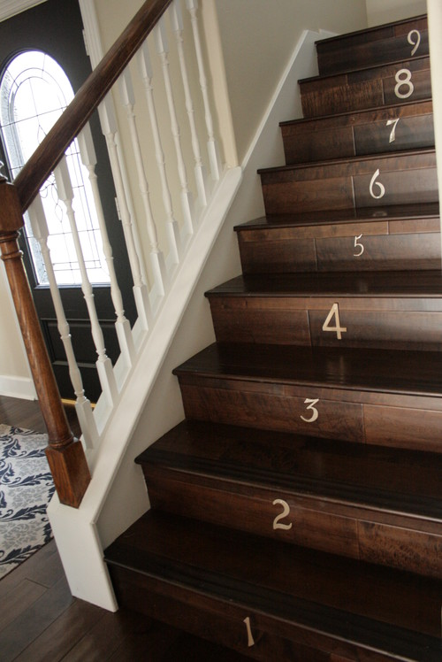 Amazing Is It True That Finished Wood Stairs Are Less Slippery Then Carpeted S