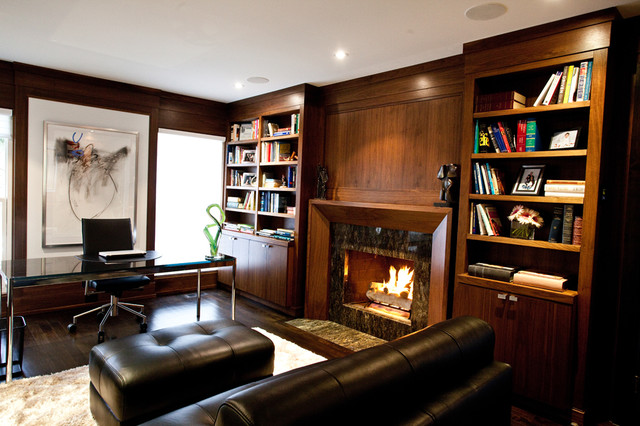 Office/Library contemporary-home-office