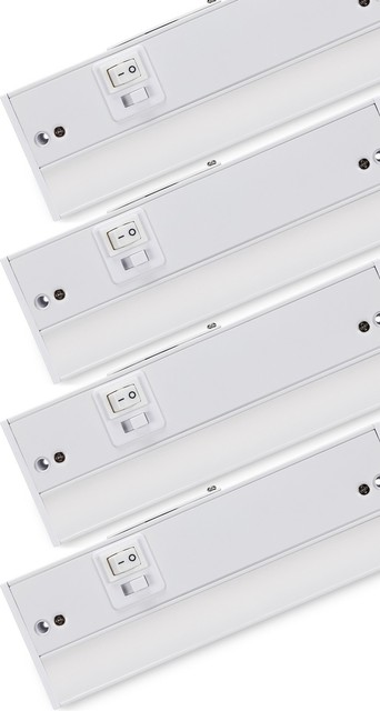 Torchstar 4-Pack 6W Dimmable LED Under Cabinet Lighting